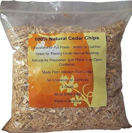 100% Natural Cedar Chips Mulch