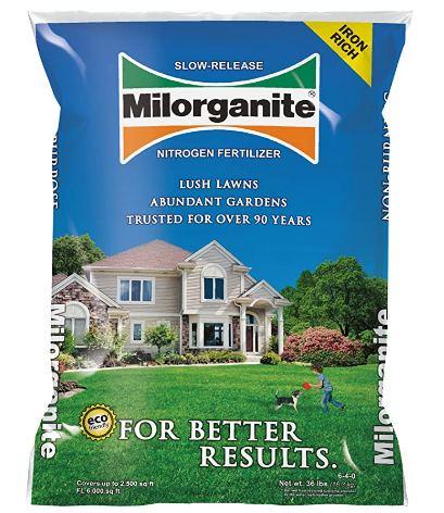 Milorganite Organic Fertilizer
