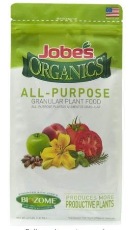Jobes organic fertilizer