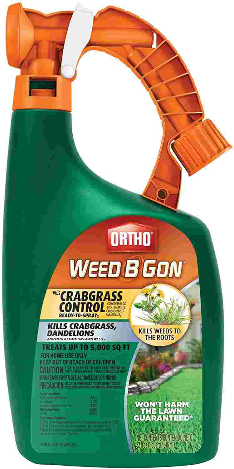 Ortho 9994110 Weed B Gon plus Crabgrass Control Ready-to-Spray2