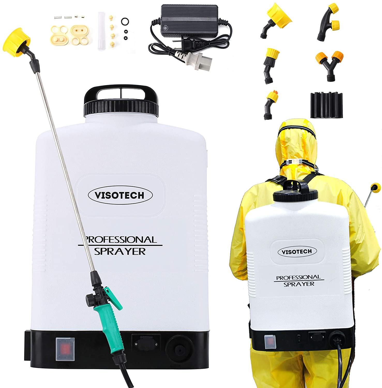 Visotech Battery Powered Backpack Sprayer
