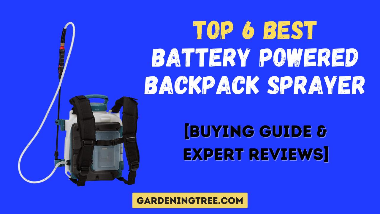 Best Battery Powered Backpack Sprayer