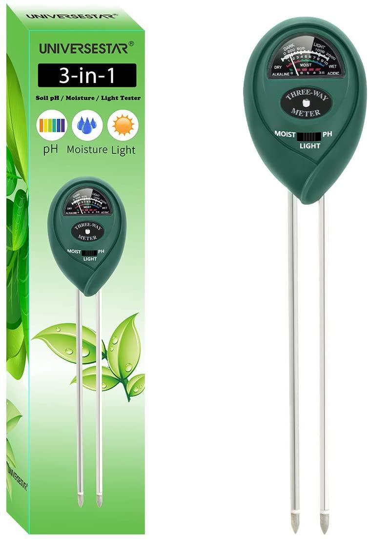 Soil pH Meter 3-in-1 Soil pH